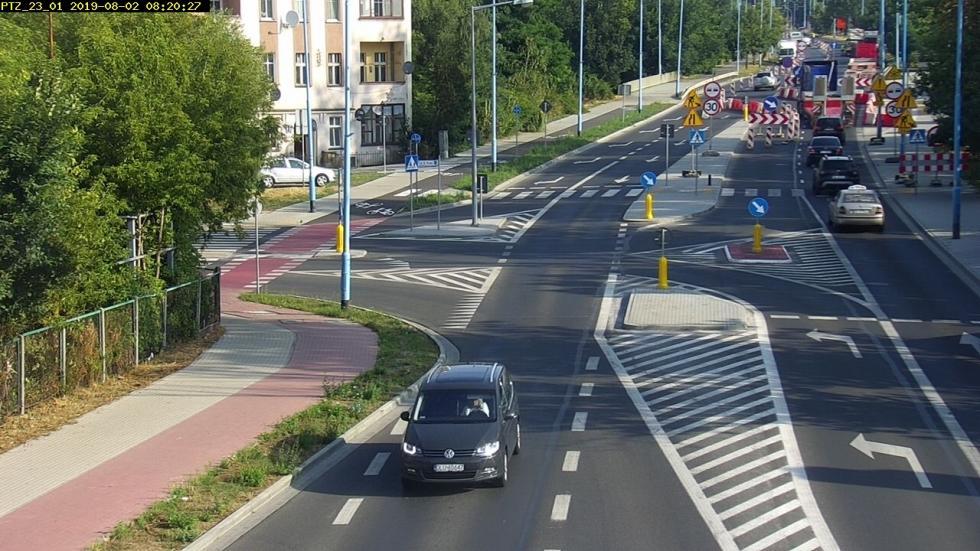 Rozpoczęła się przebudowa ul. Leszczyńskiej. Zmieniła się organizacja ruchu