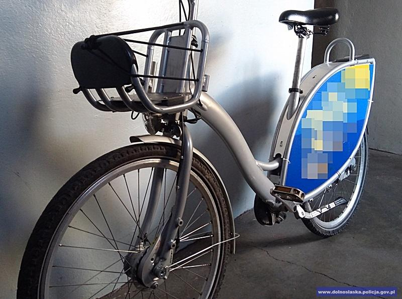Policjanci odzyskali rower owartości blisko 10 tysięcy złotych