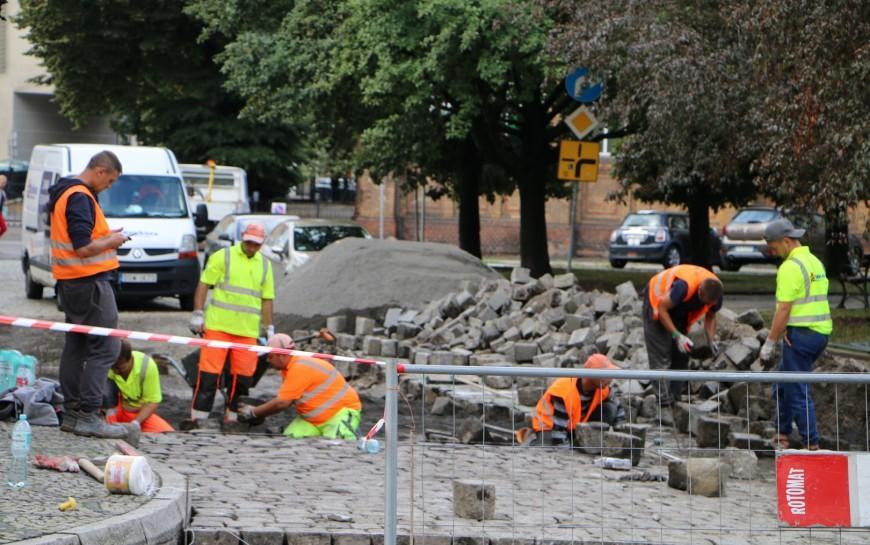 Rozpoczęła się przebudowa ulic Ojców Zbigniewa iMichała oraz Bilsego