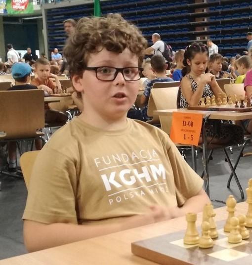 Kolejny medal szachisty Miedzi