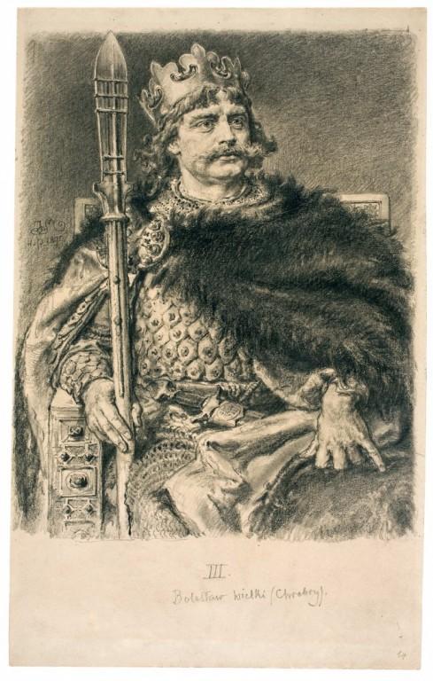 Wielki Matejko na wystawie wMuzeum Miedzi