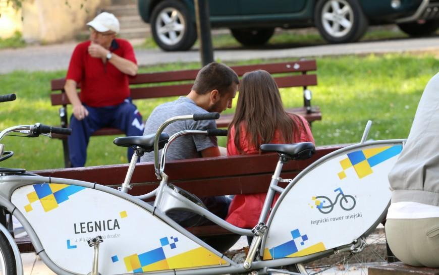 Legnickim Rowerem Miejskim jeździmy jeszcze dokońca listopada