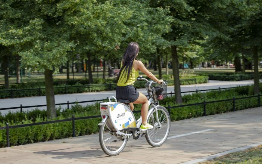Rekordowy Legnicki Rower Miejski
