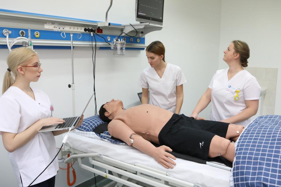 Nowy rok akademicki wCentrum Symulacji Medycznej PWSZ