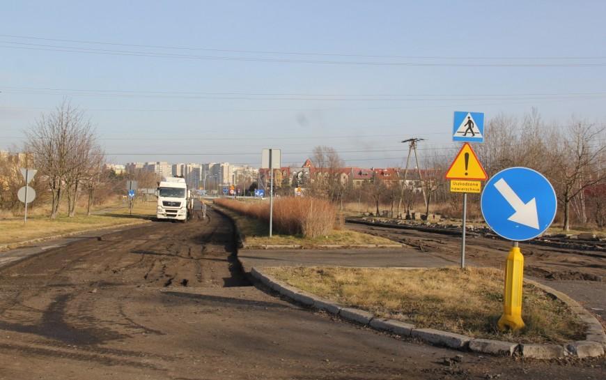 Rozpoczęła się przebudowa ul. Sikorskiego