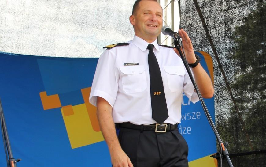 Nadbrygadier Adam Konieczny zastępcą komendanta głównego PSP