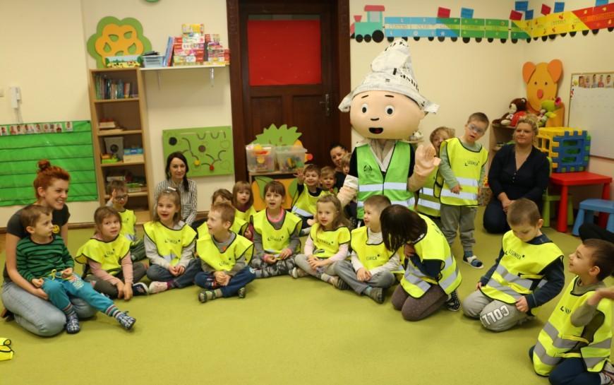 Miasto zapewnia dzieciom miejsca wprzedszkolach