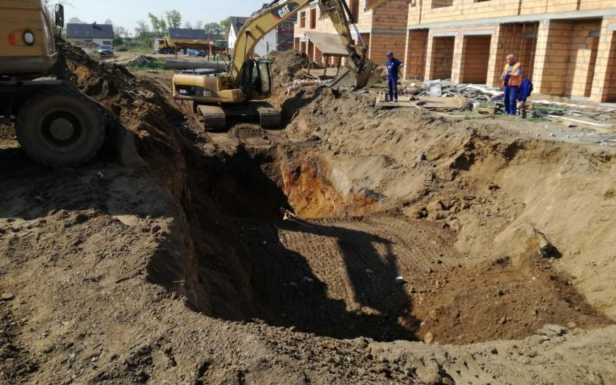 Budowa ulicy Gumińskiego