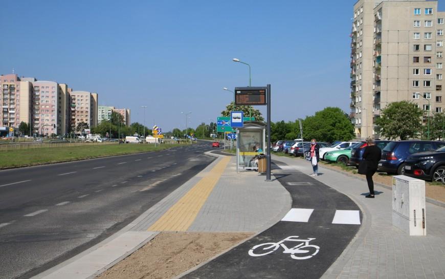 Na osiedlu Piekary - nowe ścieżki rowerowe