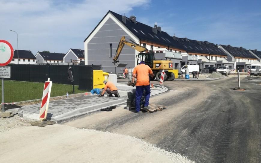 Aktualności zbudowy ulicy Gumińskiego – podziemne ipowierzchniowe
