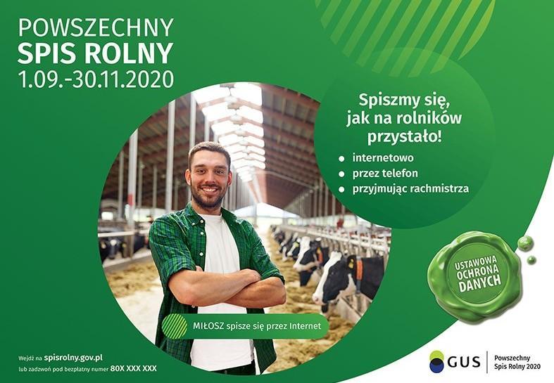 Spis Rolny 2020. Tylko do8 lipca trwa nabór rachmistrzów