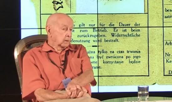 Posłuchaj rozmowy zlegniczaninem, żołnierzem ifotografem Powstania Warszawskiego