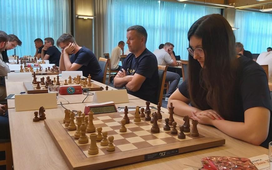 Ekstraliga szachowa. Pierwsze zwycięstwo KSz Miedź Legnica