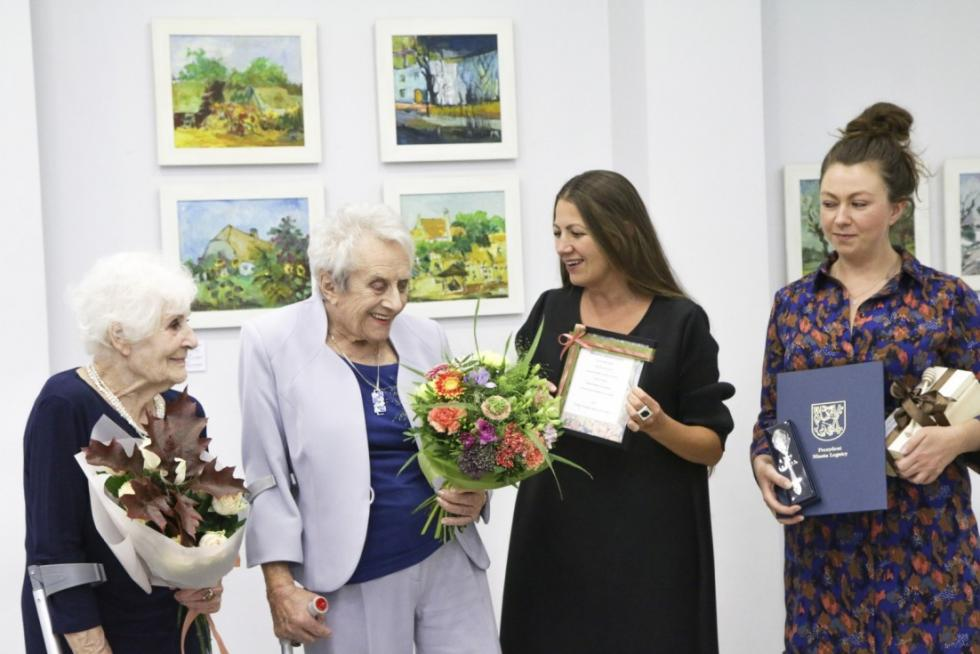Wystawa  90 dzieł na 90 lat Marii Rogali czynna tylko doniedzieli