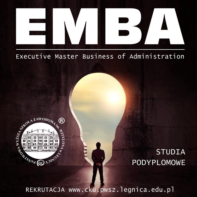 Executive Master Business of Administration - nowe studia podyplomowe wPWSZ