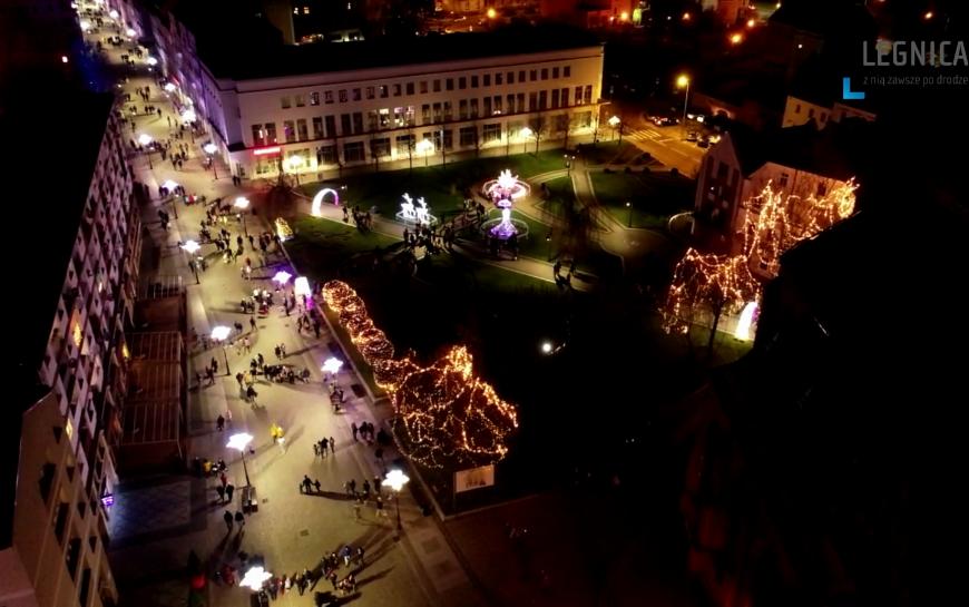 Rozbłysły świąteczne iluminacje