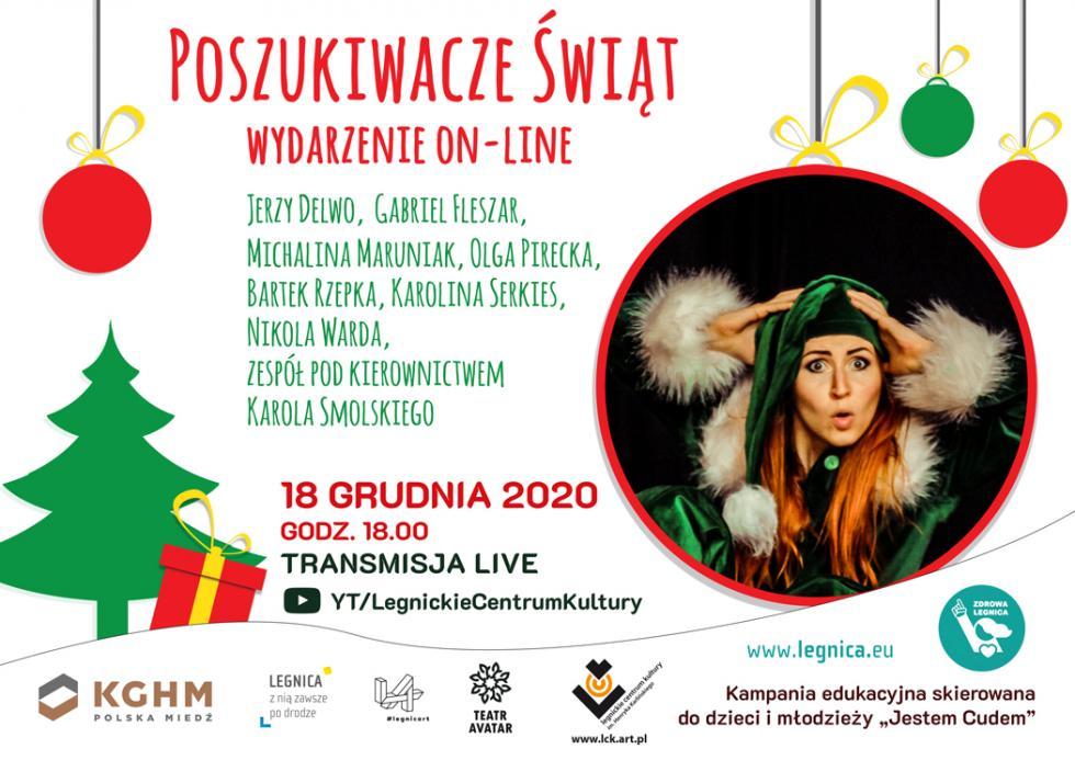 Wyjątkowy koncert wsieci. Artyści zaśpiewają świąteczne przeboje