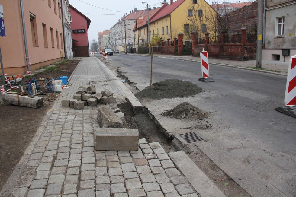 LBO 2020. Przebudowa chodnika przy ul. Działkowej