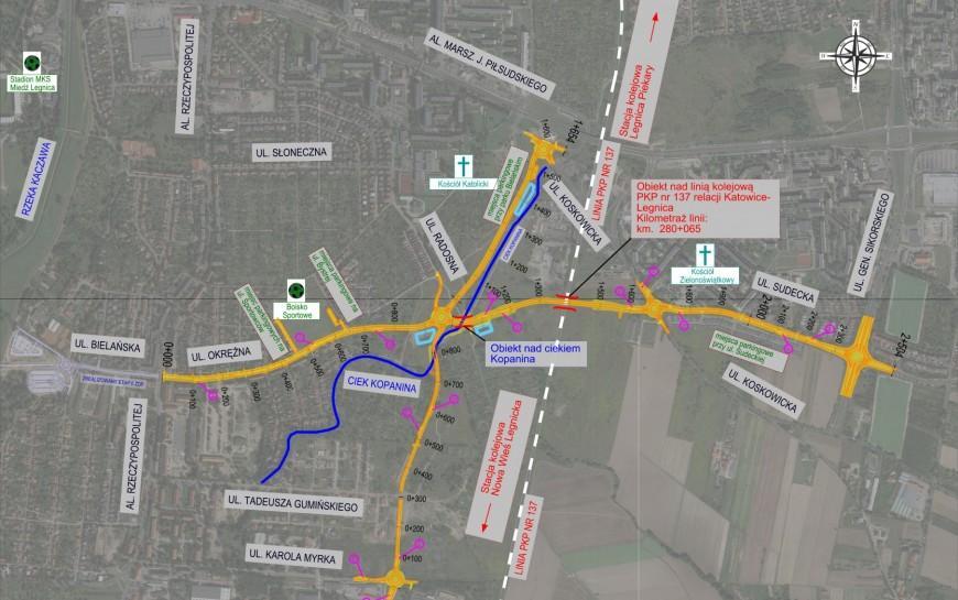 Legnica poszukuje wykonawcy III etapu zbiorczej drogi południowej