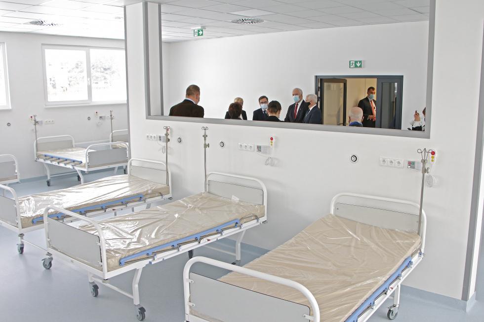 Szpital modułowy przy Wojewódzkim Szpitalu Specjalistycznym już oficjalnie otwarty