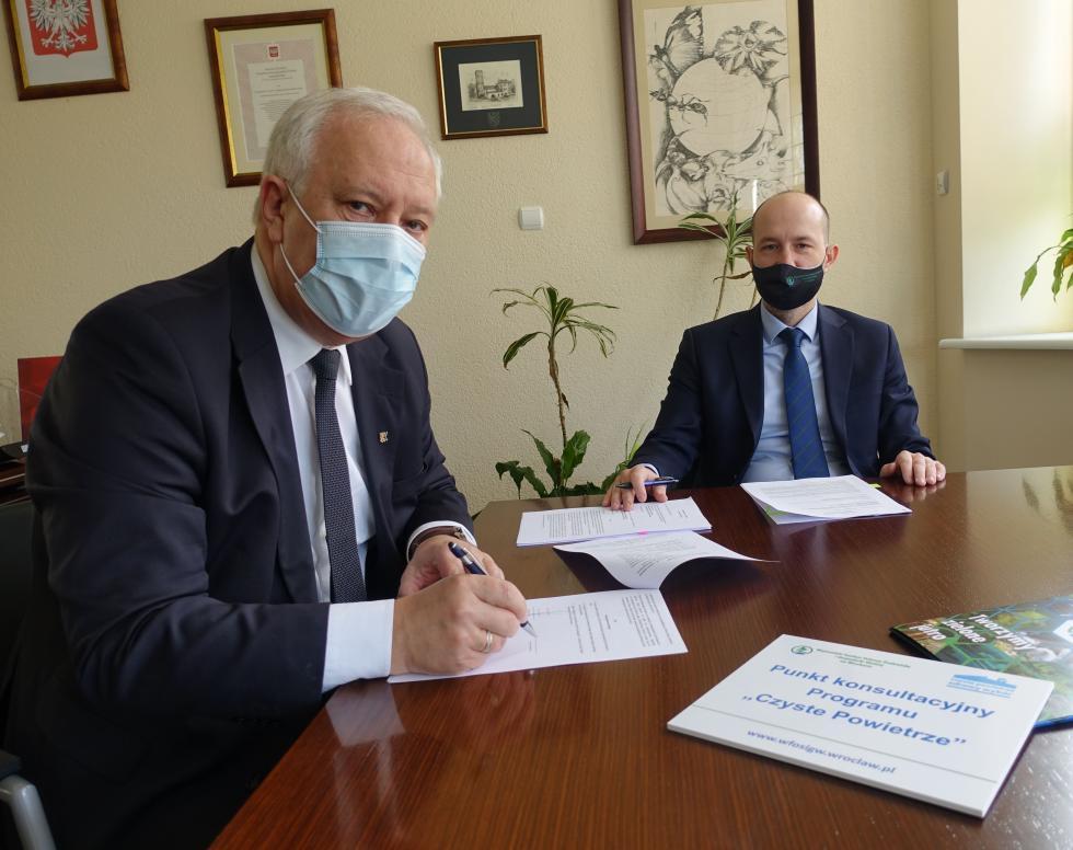Legnica przystąpiła doprogramu Czyste Powietrze