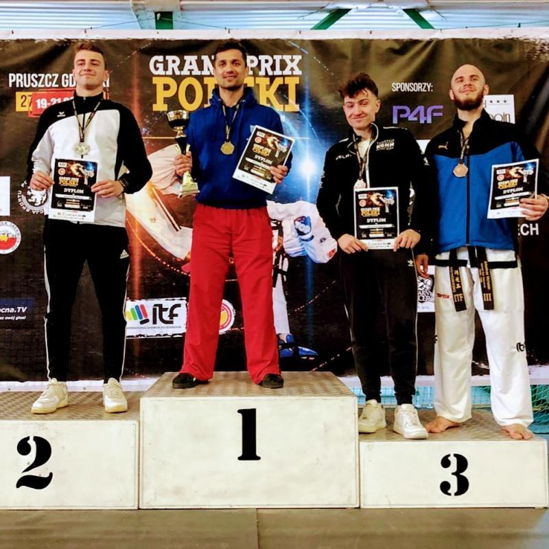 Świetny występ legnickich taekwendoków  na Grand Prix Polski. Gratulujemy