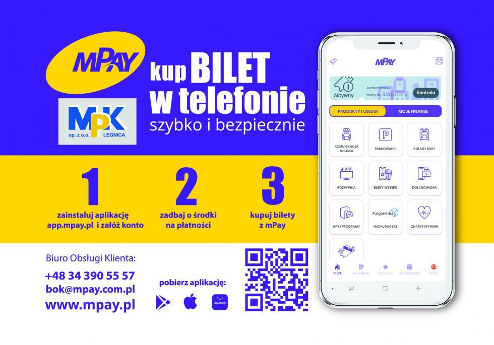 Bilety autobusowe MPK od1 kwietnia kupimy także wnowej aplikacji