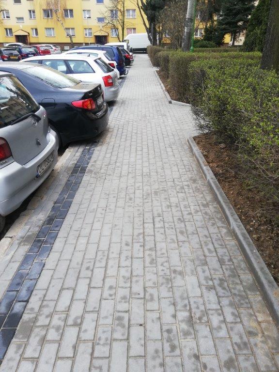 Nowy chodnik na ul. Nowogródzkiej,  kolejny wtej części miasta