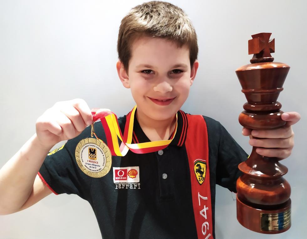 Złoty medal szachisty Miedzi