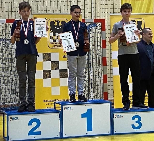 Kolejne medale szachistów legnickiej Miedzi